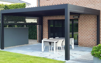 aluminium-tuinoverkapping veranda