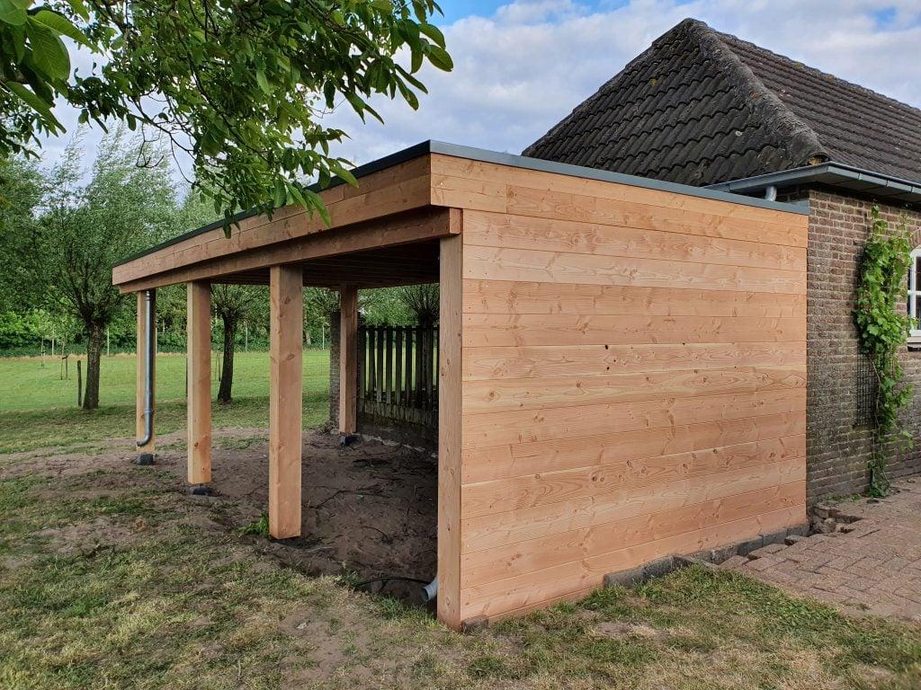 carport van hout